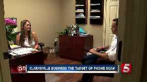 News video: BBB: Invoice Scammers Target Clarksville Fence Business