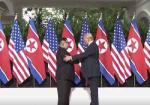 News video: Donald Trump and Kim Jong Un Meet for Historic Nuclear Summit