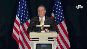 News video: Pompeo Demands North Korean Denuclearization