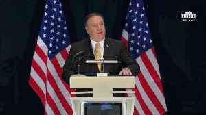 News video: Secretary Of State Pompeo Roasts The NY Times With Facts