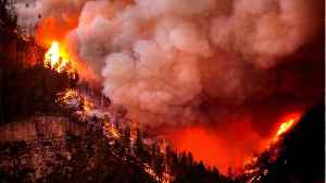 Firefighters Fight Raging Colorado Wildfire