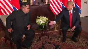News video: Trump: Kim Getting Rid Of Nukes