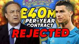 News video: Have Real Madrid REFUSED Cristiano Ronaldo's World Record Contract Demands?! | #VFN