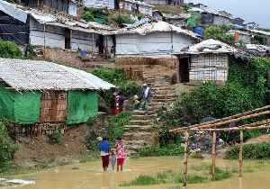 News video: Early Monsoon Rains Cause Damage at Rohingya Refugee Camps