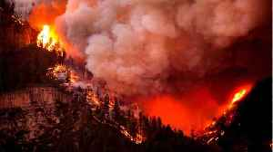 News video: Colorado Wildfire Continues With Rain Unlikely Until Weekend