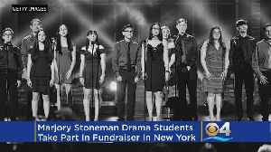 Parkland Students Help Raise Money For NYC Theater Program