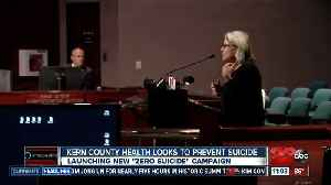 News video: Kern County officials push suicide prevention