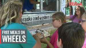 Food truck offers free, healthy meals to kids during summer