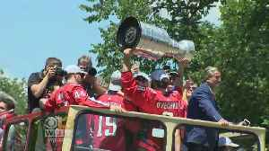 D.C. Honors Stanley Cup-Champion Capitals With Parade
