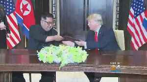 Trump, Kim Sign Document To Denuclearize The Korean Peninsula
