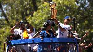 News video: Warriors Celebrate NBA Championship With Parade Through Oakland