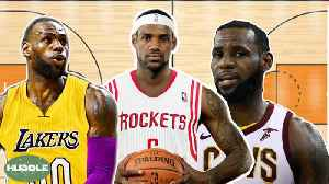That BATTLE For Lebron James! Who Will Win? | Huddle
