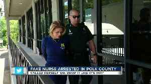 News video: 'Drop It Like It's Hot' weight loss clinic employee arrested for unlicensed practice of health care