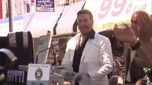 Thousands Gather at Lenny's Pizza in Brooklyn to Celebrate John Travolta Day