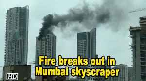 News video: Fire breaks out in Mumbai skyscraper