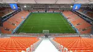 News video: Yekaterinburg's inside-out stadium ready to play host to World Cup matches