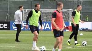 News video: England build-up continues ahead of World Cup start