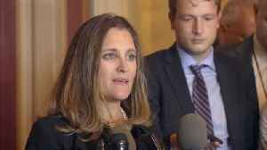 """News video: U.S. trade actions """"illegal"""": Canada's Freeland"""