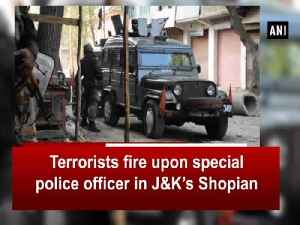 Terrorists fire upon special police officer in J&K's Shopian [Video]