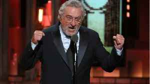 News video: De Niro's Tony Outburst Gets Response From Trump