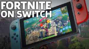 News video: Fortnite: Battle Royale On Switch Gameplay - E3 2018