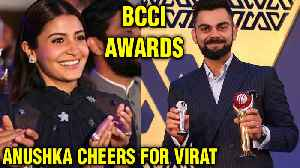 Virat Kohli and Anushka Sharma Attend The BCCI Awards [Video]