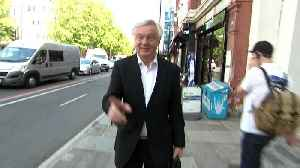 News video: David Davis ignores questions on 'Tory rebels'