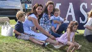 News video: Prince George Tumbles Down a Hill