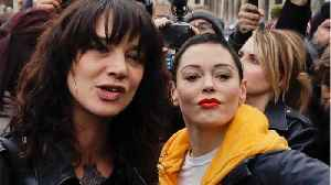 Asia Argento Spends Time With Rose McGowan After Bourdain Death