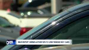 News video: New report reveals how many children die each year after being left in hot cars