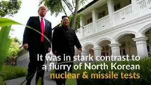 News video: North Korea highlights Trump concessions after historic summit