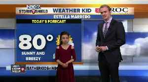 News video: Meet Estella, our NBC26 Weather Kid of the Week