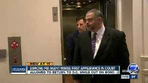 News video: Dancing FBI agent accused of shooting man at Denver bar appears in court, posts bond