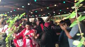 News video: Peru fans chant in Moscow ahead of World Cup