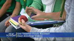 News video: District: Middle-School Teacher Showed Graphic Anti-Abortion Videos To Class