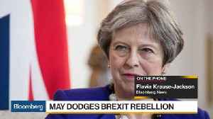 News video: May Dodges Brexit Rebellion