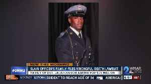 News video: Family suing after undercover officer killed by officer
