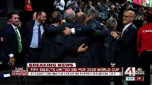 News video: North America wins vote to host 2026 World Cup