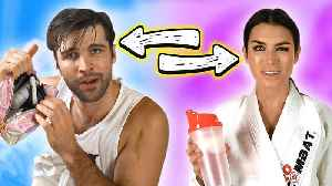News video: Opposite Guy and Girl SWAP LIVES For a Day!