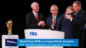 News video: U.S. wins bid to co-host 2026 World Cup, Orlando may land games
