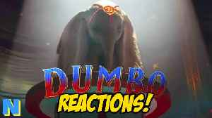 News video: Disney's Dumbo Live Action Trailer REACTIONS! | NW News