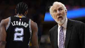 News video: Kawhi Leonard AND Greg Popovich BOTH LEAVING The Spurs?