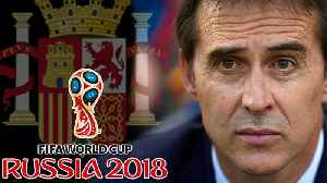 News video: Spain FIRES Coach 2 Days Before Facing Cristiano Ronaldo! | 2018 World Cup