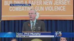 News video: Gov Signs 6 Gun Control Measures In New Jersey