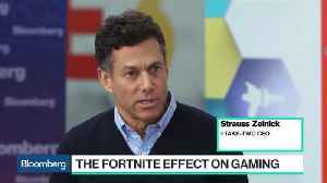 News video: Take-Two CEO Strauss Zelnick's Take on Fortnite