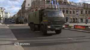 News video: Security tight in Moscow ahead of World Cup start