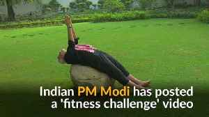 India's Modi releases fitness challenge video
