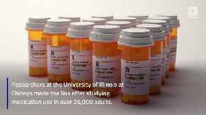 News video: Study Finds More Than 200 Common Medications Cause Depression