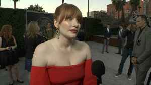 News video: Bryce Dallas Howard Leaves The Jungle For