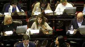 Lawmakers debate abortion in Argentina